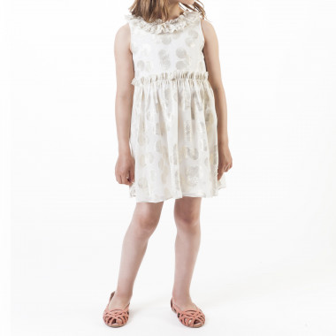 Formal dress with shells CARREMENT BEAU for GIRL