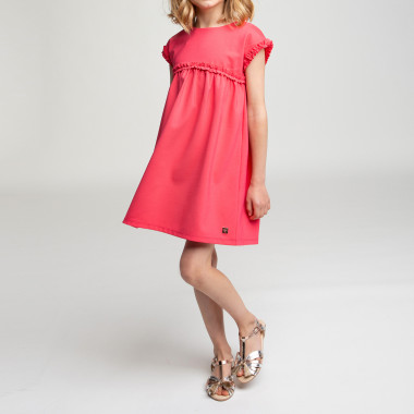 Short-sleeved dress CARREMENT BEAU for GIRL