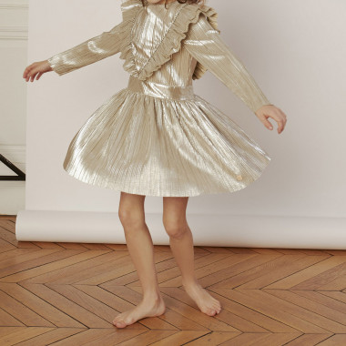 Lamé formal dress CARREMENT BEAU for GIRL