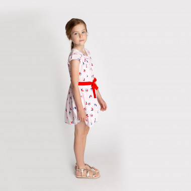 Buttoned floral dress CARREMENT BEAU for GIRL