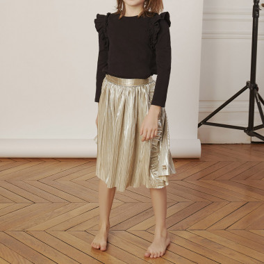 Lamé formal skirt CARREMENT BEAU for GIRL