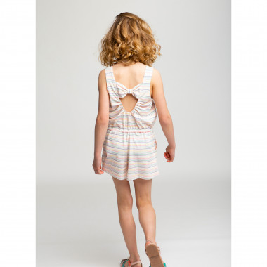 Cotton and modal playsuit CARREMENT BEAU for GIRL