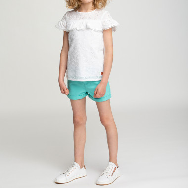 Broderie anglaise T-shirt CARREMENT BEAU for GIRL