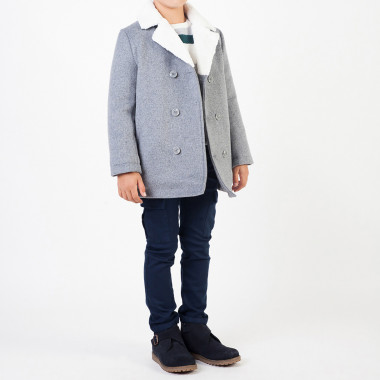 Stretch cotton trousers CARREMENT BEAU for BOY