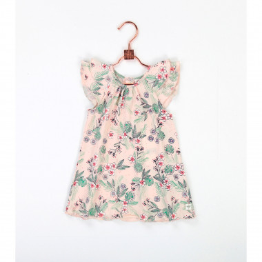 Jersey cotton dress CARREMENT BEAU for GIRL