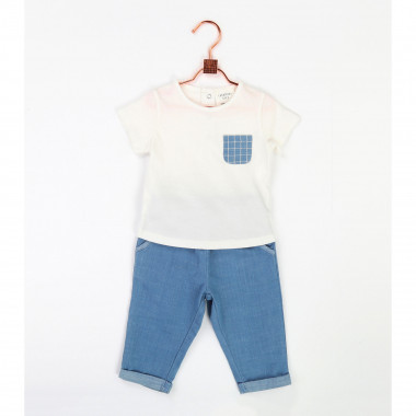 Elasticated waist jeans CARREMENT BEAU for BOY