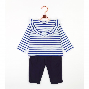 Viscose twill trousers CARREMENT BEAU for GIRL