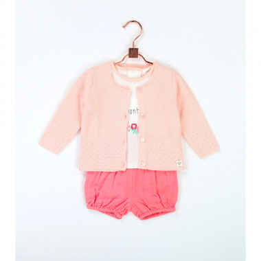 Waffle cotton bloomers CARREMENT BEAU for GIRL