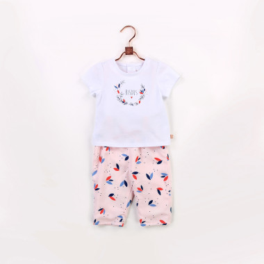 Trousers with graphic print CARREMENT BEAU for GIRL
