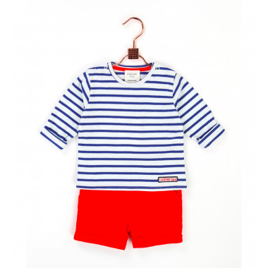 Striped jersey T-shirt CARREMENT BEAU for BOY