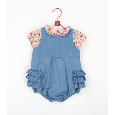 Peter Pan blouse with frills CARREMENT BEAU for GIRL
