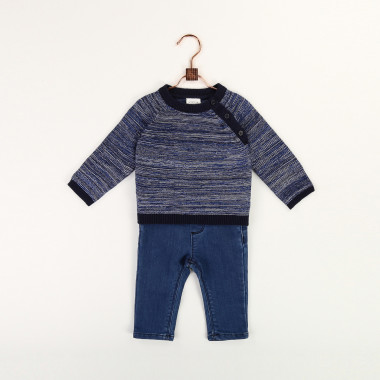 Cotton and wool blend jumper CARREMENT BEAU for BOY