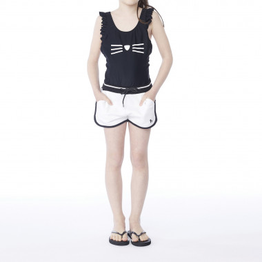 1-piece bathing suit KARL LAGERFELD KIDS for GIRL