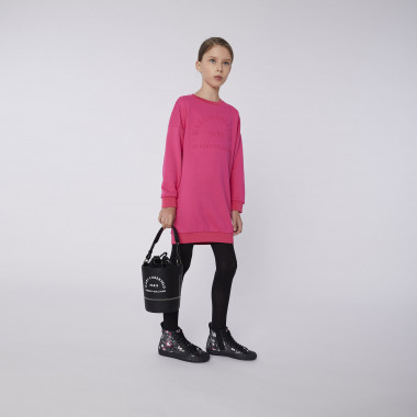Faux leather bucket bag KARL LAGERFELD KIDS for GIRL