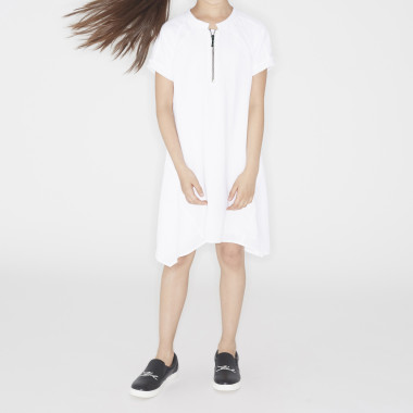 Crepe dress KARL LAGERFELD KIDS for GIRL