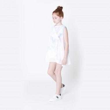 Frilled formal dress KARL LAGERFELD KIDS for GIRL