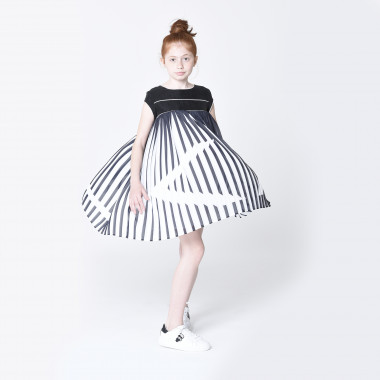 Two-tone formal dress KARL LAGERFELD KIDS for GIRL