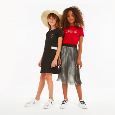 Pleated skirt KARL LAGERFELD KIDS for GIRL