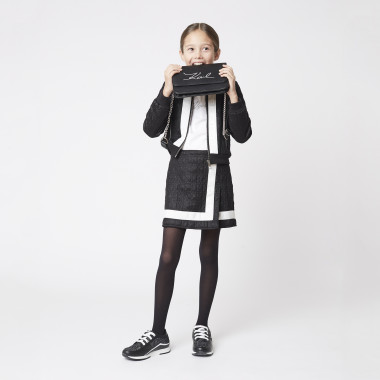 Quilted cardigan KARL LAGERFELD KIDS for GIRL