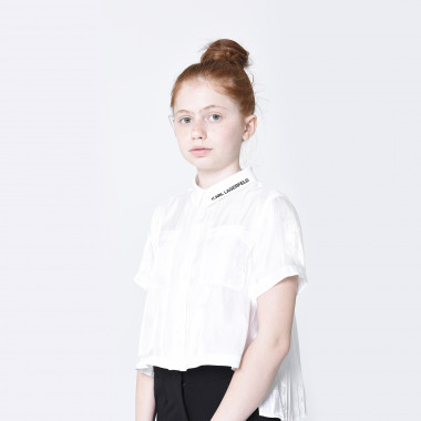 Short-sleeved shirt KARL LAGERFELD KIDS for GIRL