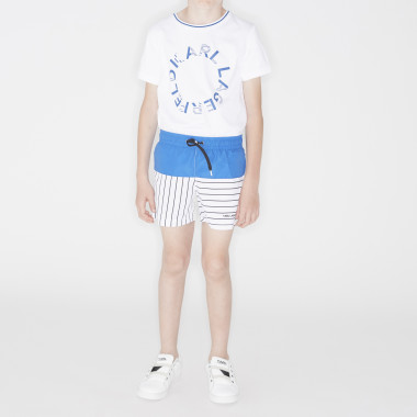 Logo swimming trunks KARL LAGERFELD KIDS for BOY