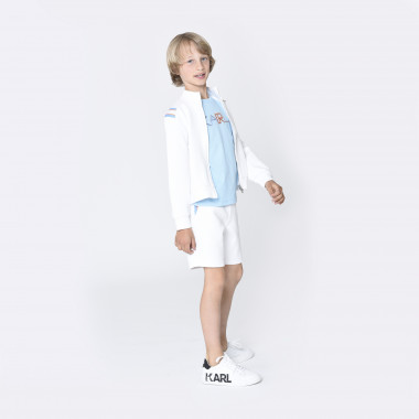 Novelty bermuda shorts KARL LAGERFELD KIDS for BOY