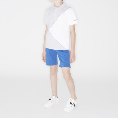 Interlock Bermuda suit shorts KARL LAGERFELD KIDS for BOY