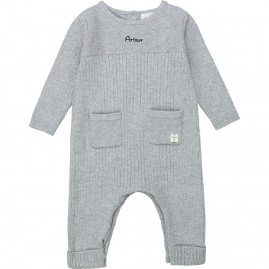 Novelty knit romper CARREMENT BEAU for BOY