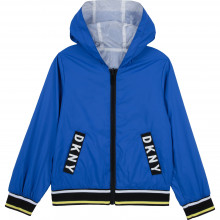 Reversible hooded windbreaker