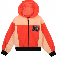 Hooded waterproof windbreaker