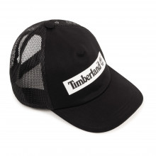 Cotton twill and mesh cap