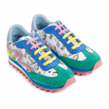 Patterned trainers