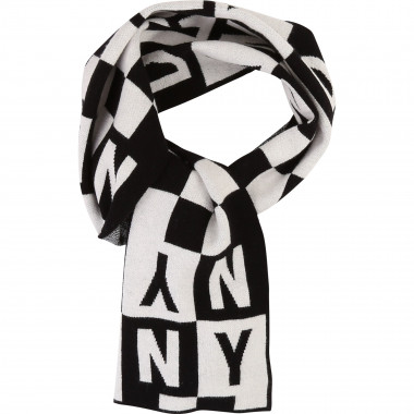 Check patterned scarf DKNY for BOY