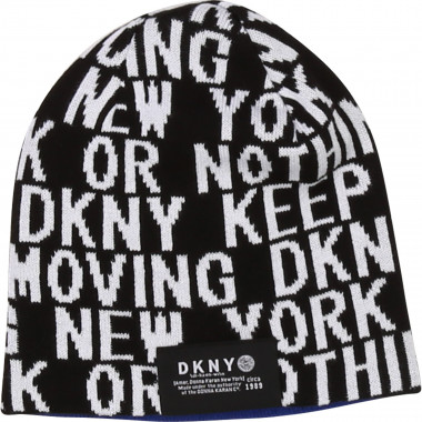 Reversible knit hat DKNY for BOY