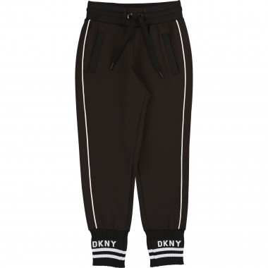 Fleece jogging bottoms DKNY for BOY