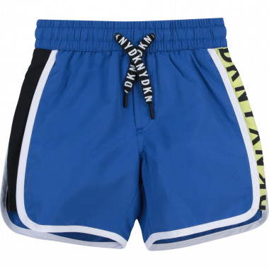 Bathing suit with logo DKNY for BOY
