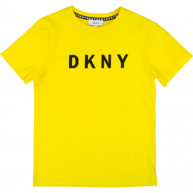 Logo-printed cotton T-shirt DKNY for BOY