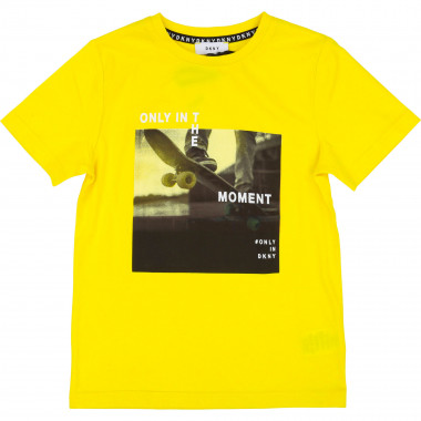 T-shirt with placed design DKNY for BOY
