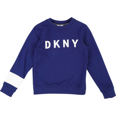 Logo and print sweatshirt DKNY for BOY