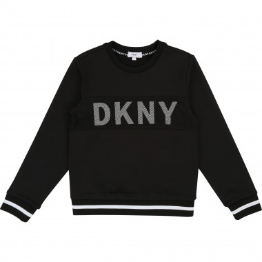 Light neoprene sweatshirt DKNY for BOY