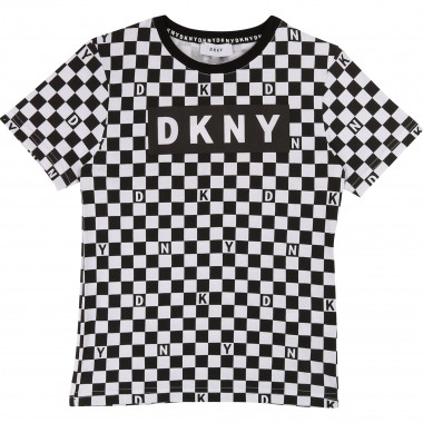 Printed cotton T-shirt DKNY for BOY
