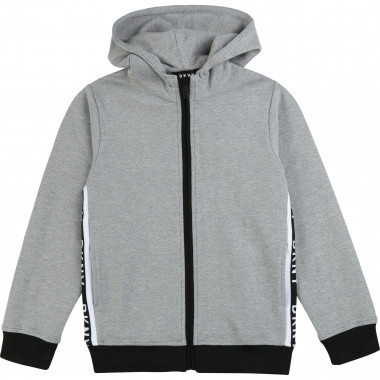 Zipped hooded jumper DKNY for BOY