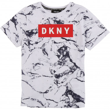 T-shirt with marbled print DKNY for BOY