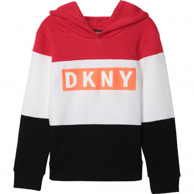 Hooded fleece sweatshirt DKNY for BOY