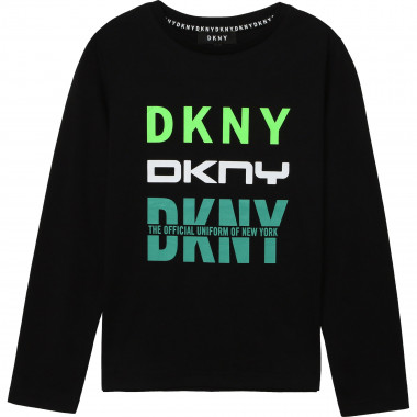 Cotton jersey T-shirt DKNY for BOY