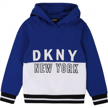 Fleece hoodie sweatshirt DKNY for BOY