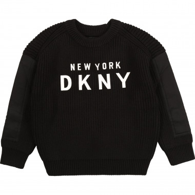 Jumper with fancy sleeves DKNY for BOY