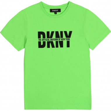 Jersey T-shirt with print DKNY for BOY