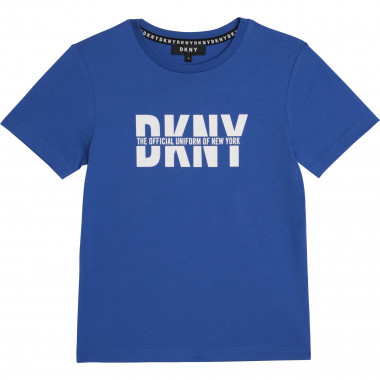 Organic cotton T-shirt DKNY for BOY
