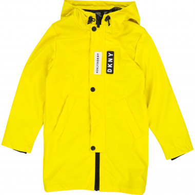 Waterproof hooded parka DKNY for BOY